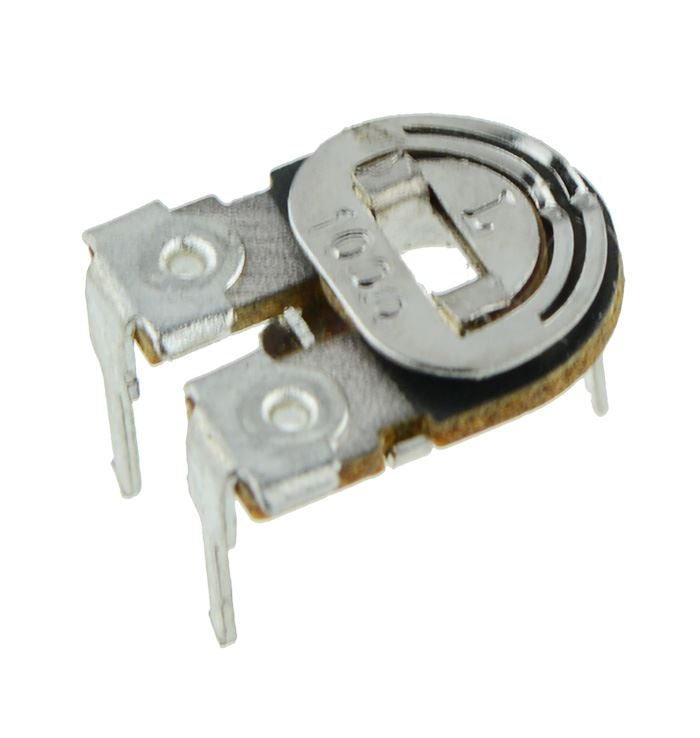 6mm Cermet Horizontal Variable Trimmer Potentiometer Pot 100R to 100K
