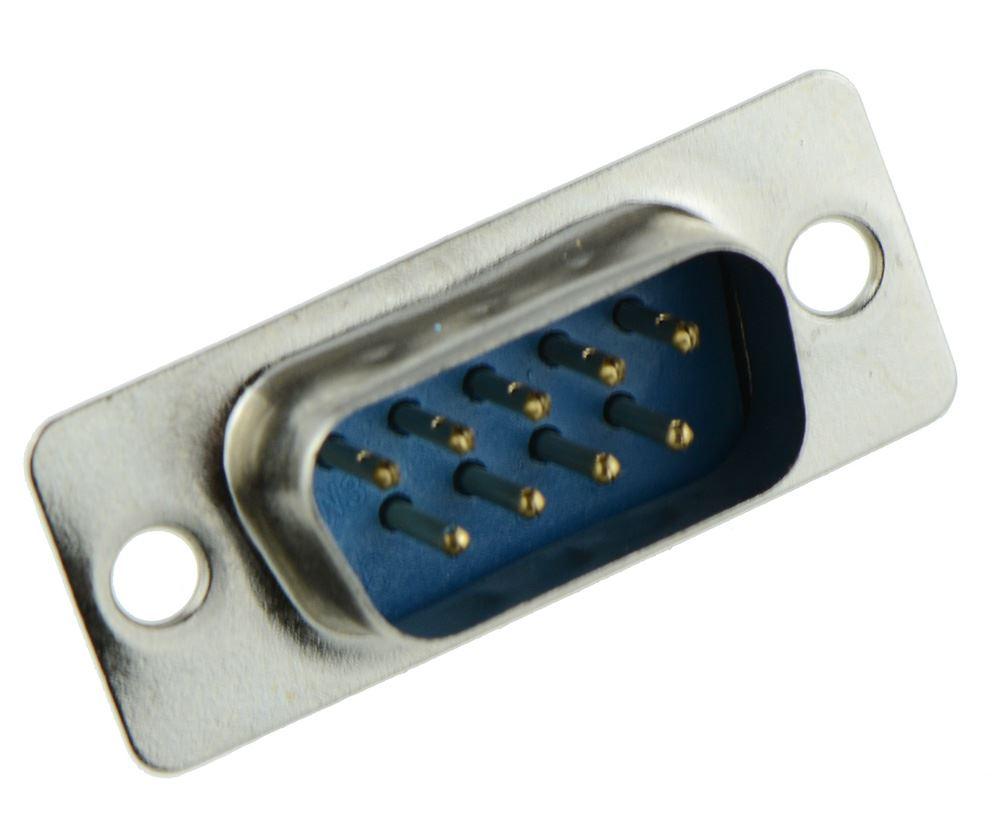 10 X 15-Way Enchufe Macho Conector D Sub estirón de la soldadura