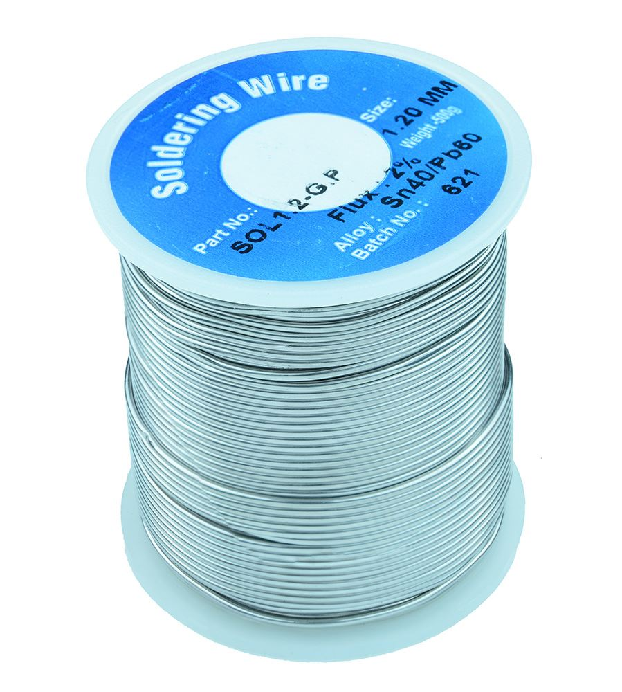 "Spool Electronic Solder 60//40 1.2mm 0.050/"" 1 lb"