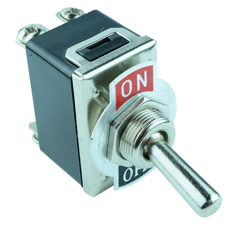 Standard Size Toggle Switch Screw Terminals 10a 250vac