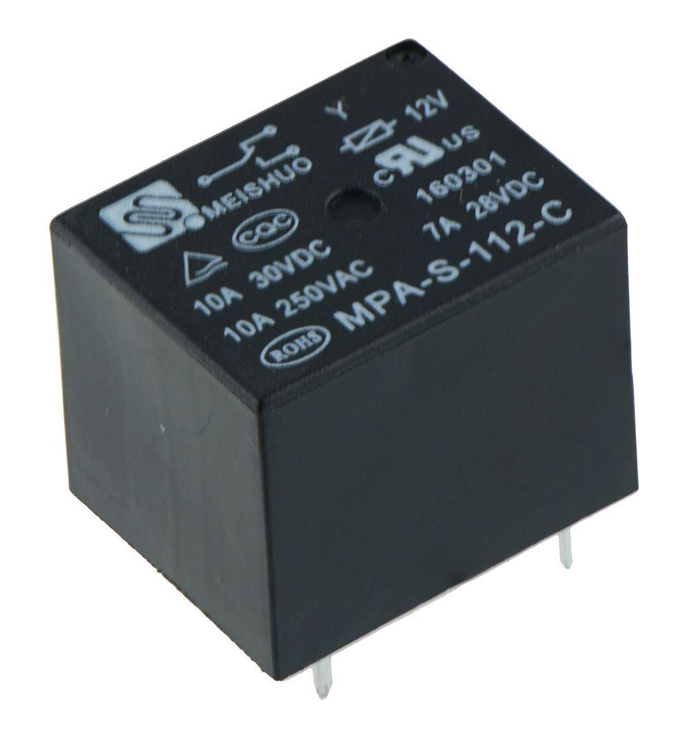 2 X 6V Mini Power Relé SPDT 15A