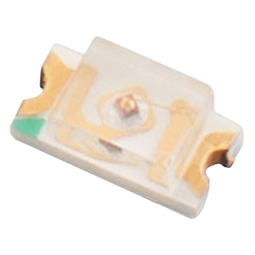 10 X Pure White 1206 SMD DEL 850mcd 120 °