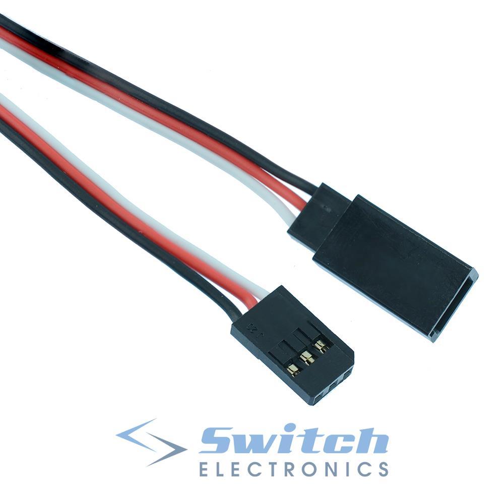 Rc Servo Extension Wire Cable Lead Futaba Jr Hitec Sanwa