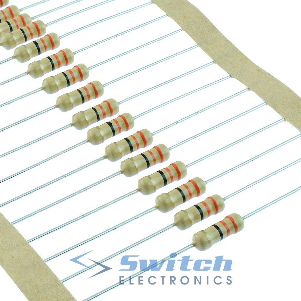 paquete De 30 Film carbono resistor 680r 0,5 W 5/%