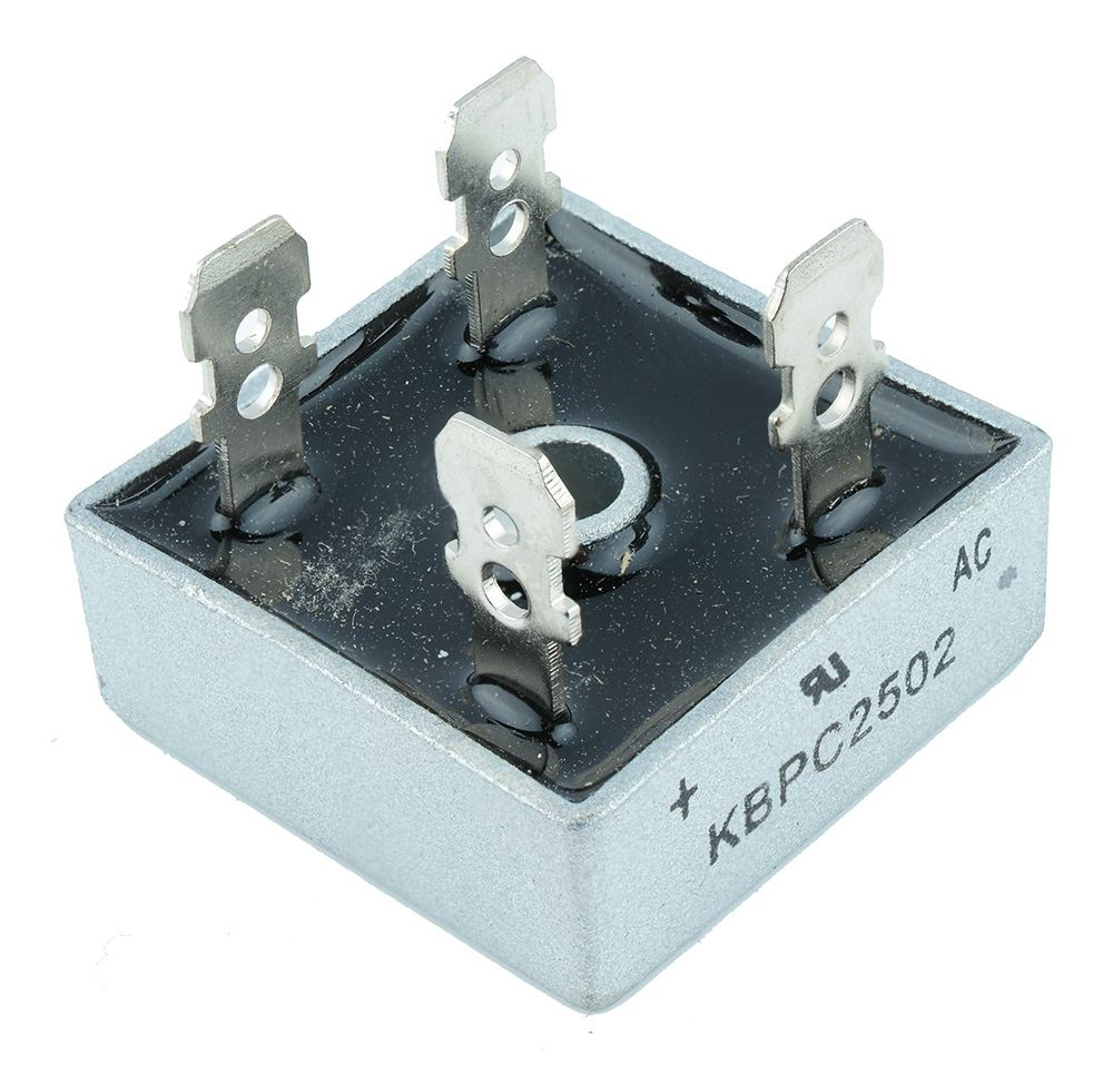 5 x KBPC2502   Bridge Rectifier  Diode  25A  200V    5 per order   NEW    Z2396