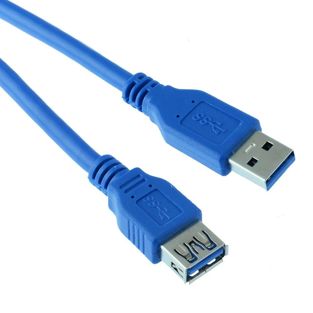UK Venditore USB 2.0 A maschio a femmina cavo di estensione Piombo STESSO GIORNO SPEDIZIONE