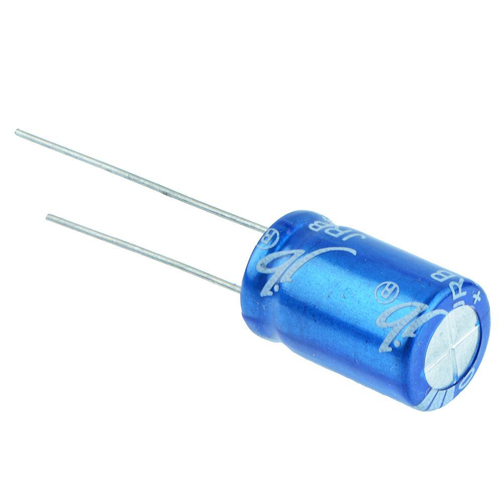 10 x 220uF 35V Radial Aluminium Electrolytic Capacitor ±20/%