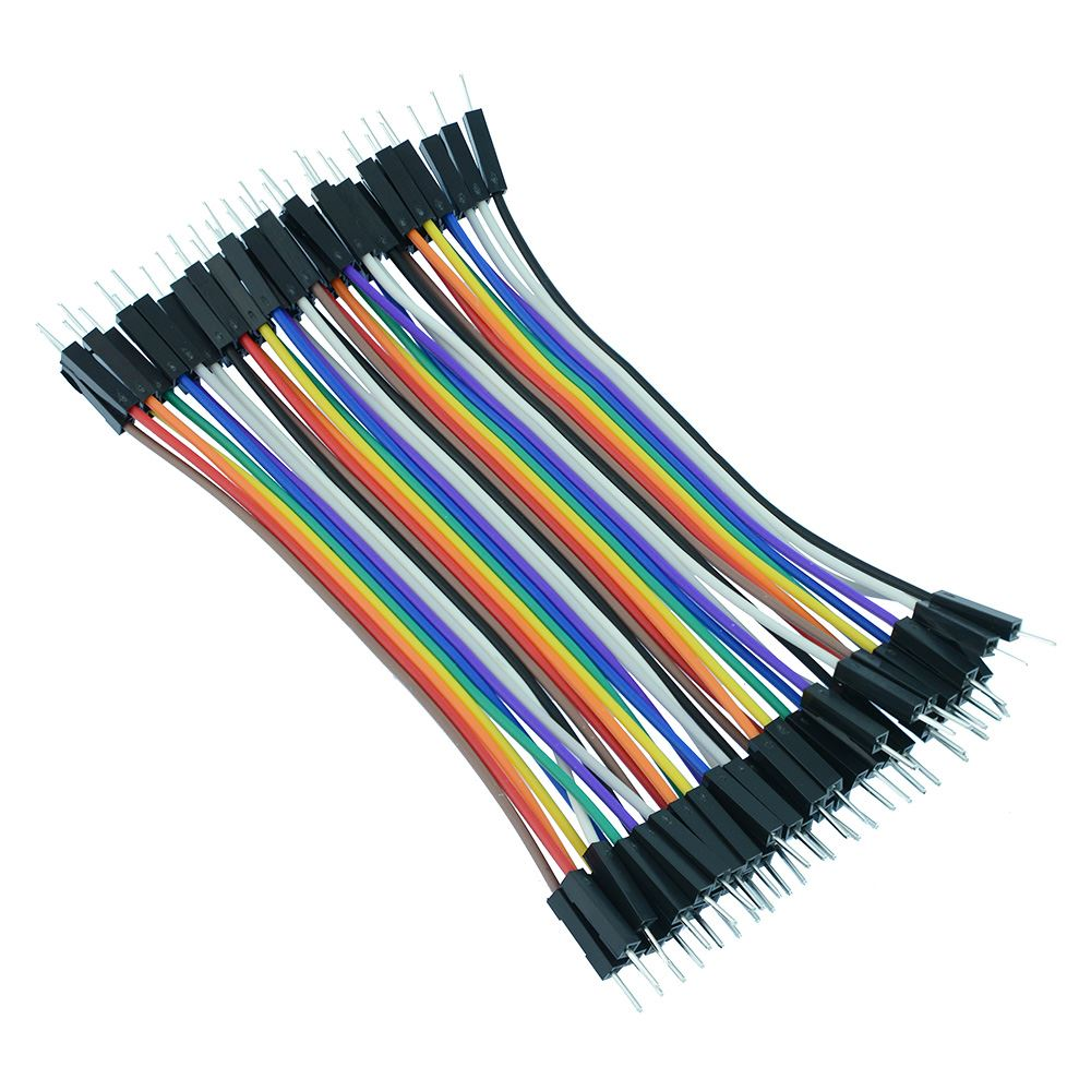 120pcs 20cm Breadboard Dupont Jumper Cable Wire Lead M-M//M-F//F-F Prototyping US