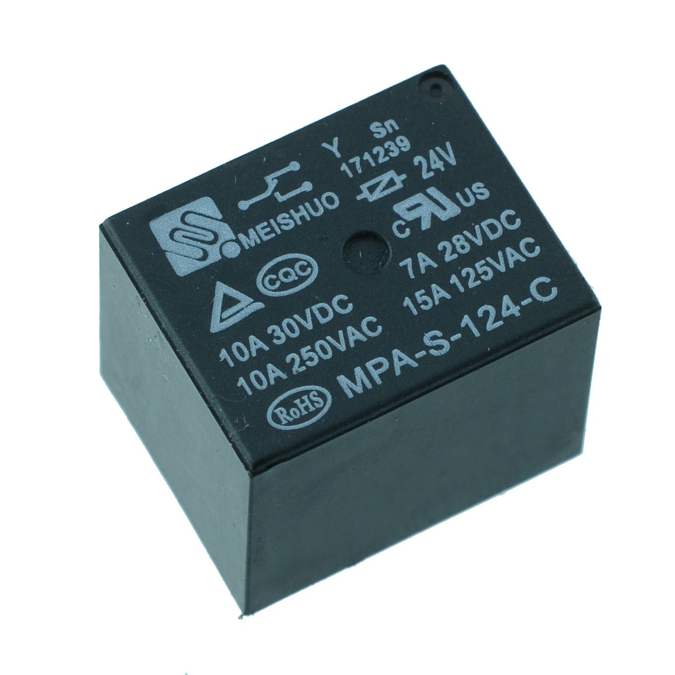24V Mini Power Relay SPDT 15A