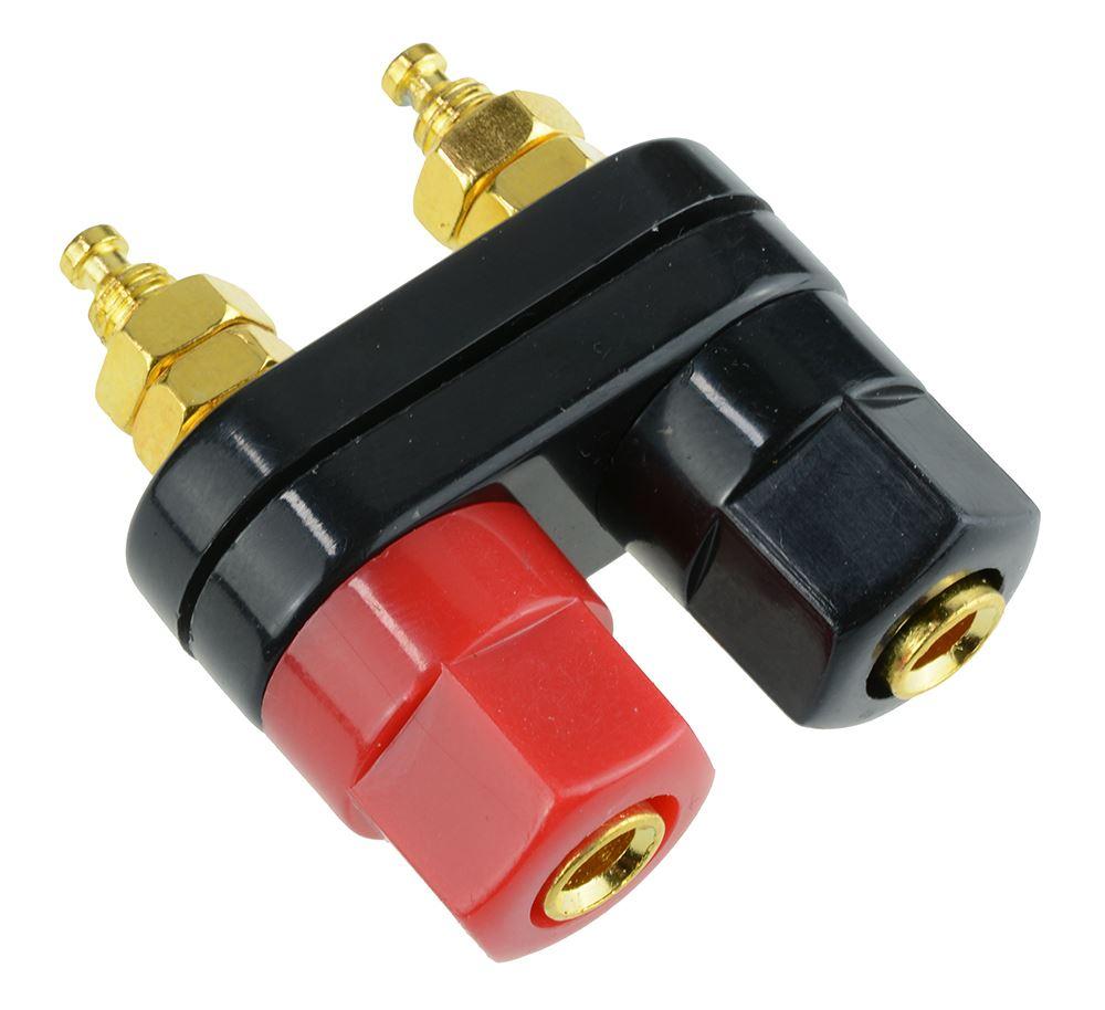 Dual 4mm Binding Post Socket Connector
