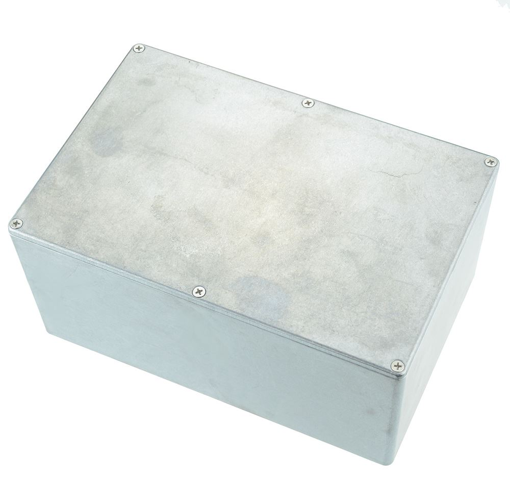 115.3 x 64.5 x 54.9mm Hammond 1550D IP54 Diecast Aluminium Enclosure