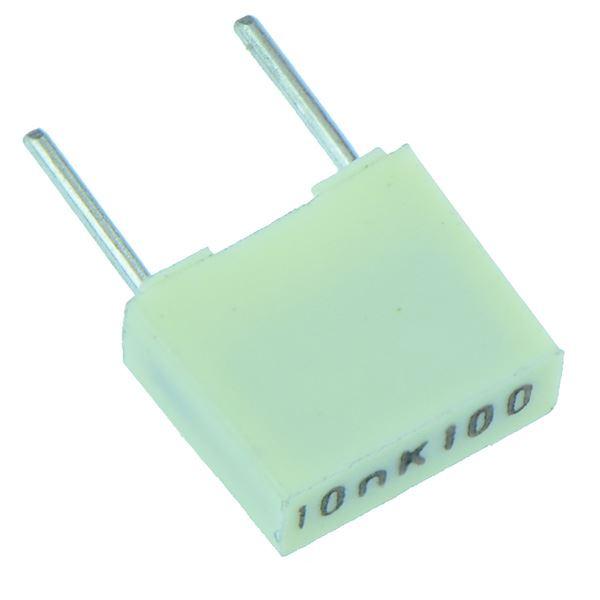 1nF pour 1uF 5mm Polyester Boîte Condensateur 10/% 100V Kemet