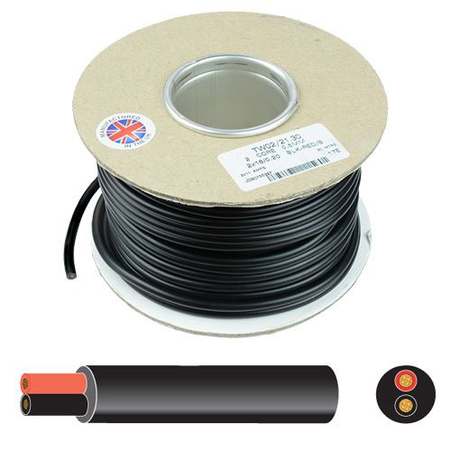 4 Core 12V Automotive Marine Cable Round Trailer Wire Thinwall 0.75mm 1mm 1.5mm