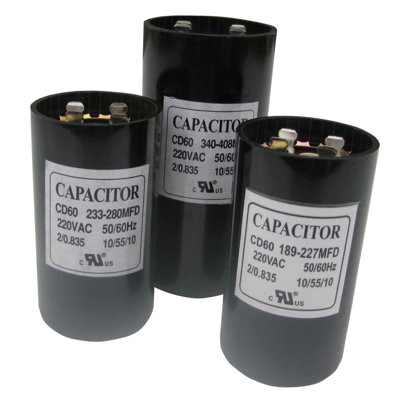 Uf mfd microfarad new 220 275v electric motor start for Electric motor start capacitor