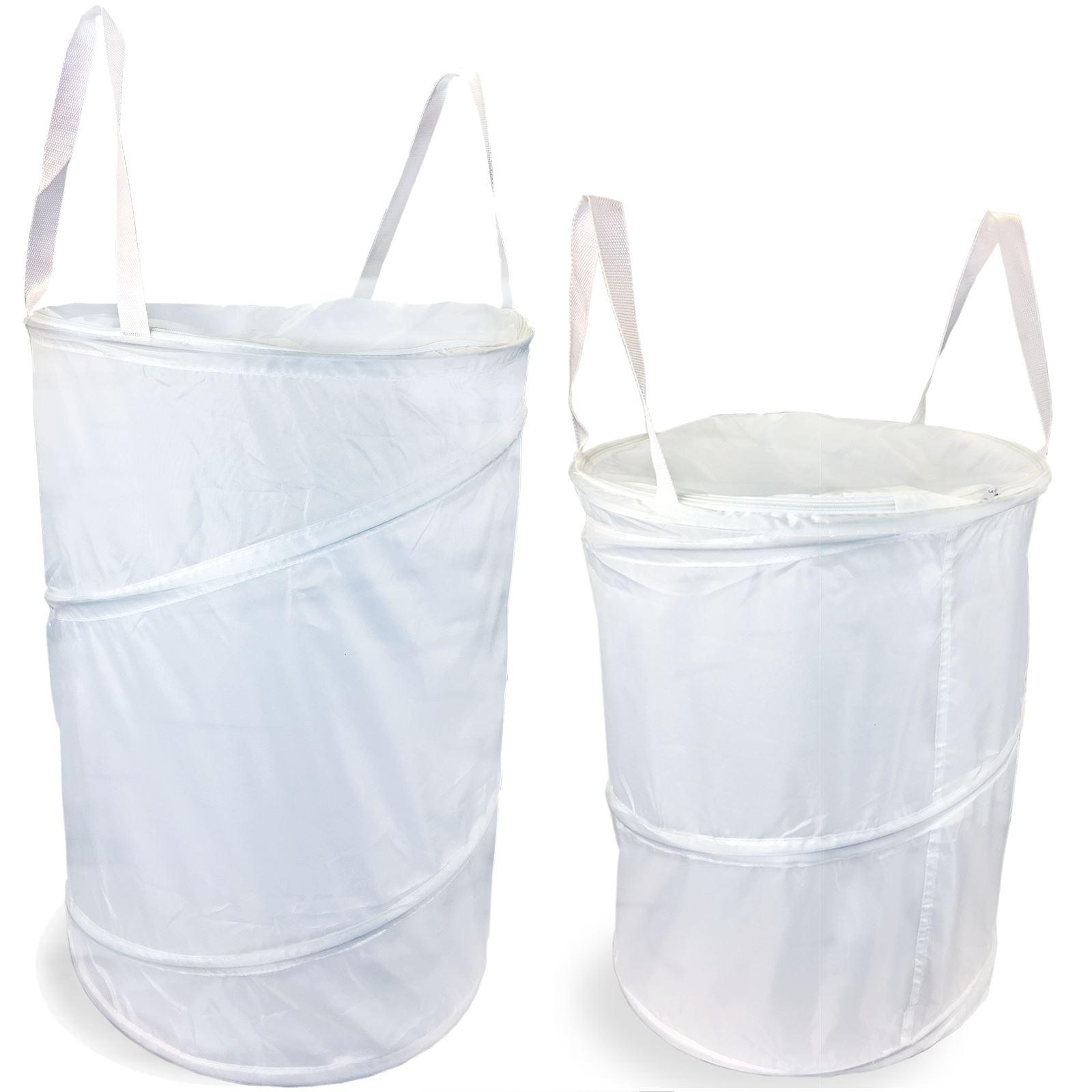Washing Basket, 150 Litre, 1 Large Laundry Bag SIMPA/® 150L Litre Extra Large Pop Up Laundry Hamper Bin Washing Basket Fold Away Clothes Bag Bathroom Storage with Zippable Lid Laundry Basket