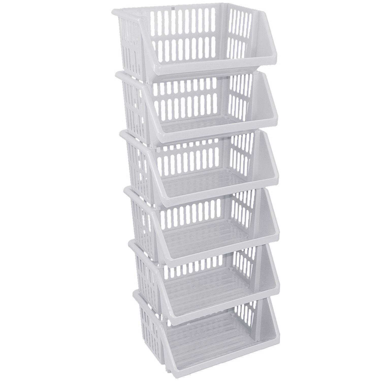Multi Purpose Large Plastic Colour Storage Rack Stand