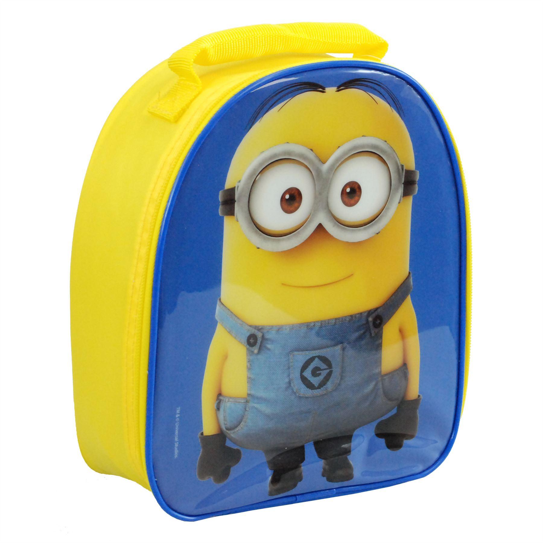3e64b89921 Universal® Despicable Me Minions Vertical Lunch Bag   School Bag Set 3 3 of  4 ...