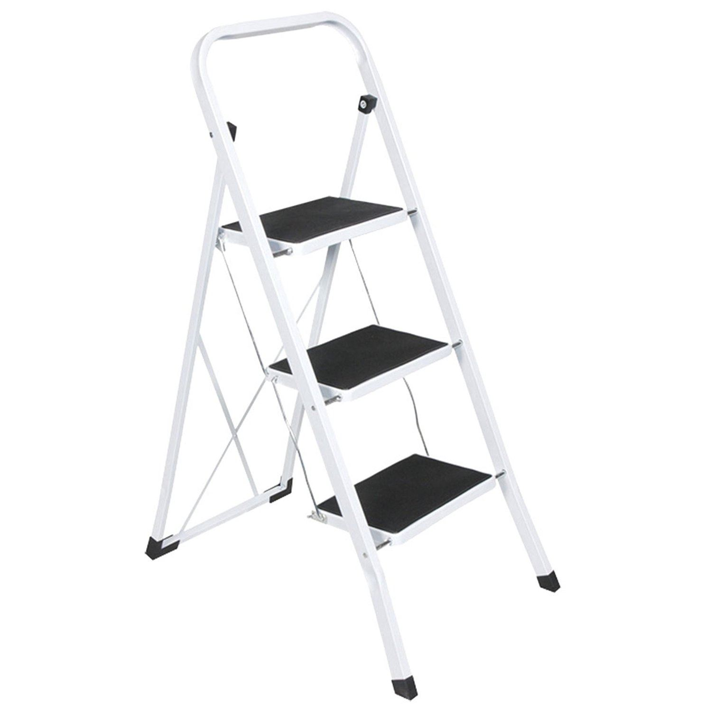 Heavy Duty Portable House : Step ladder safety non slip mat heavy duty steel