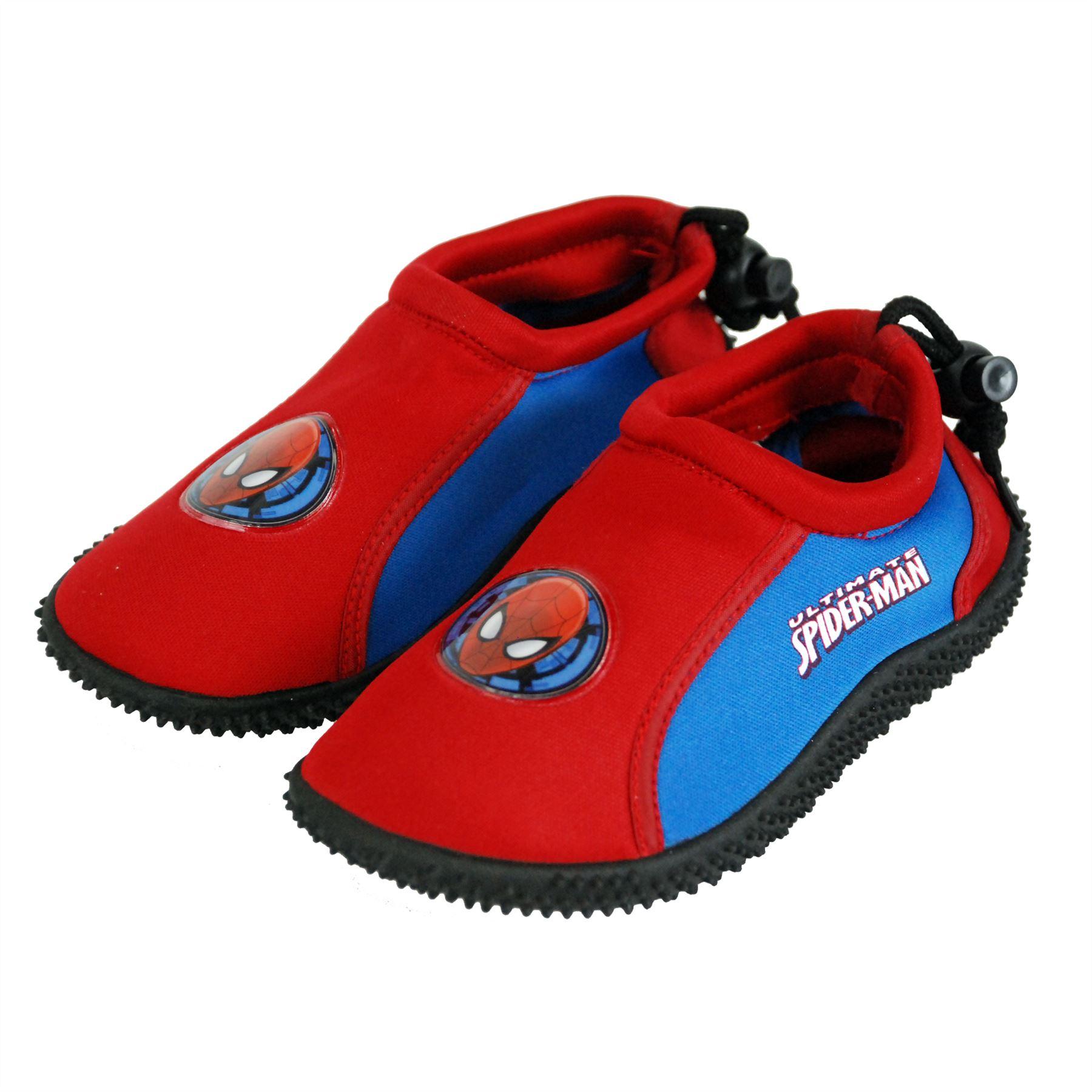 04257061f6b Marvel® Official Spiderman Boys Surf Aqua Shoes for Beach