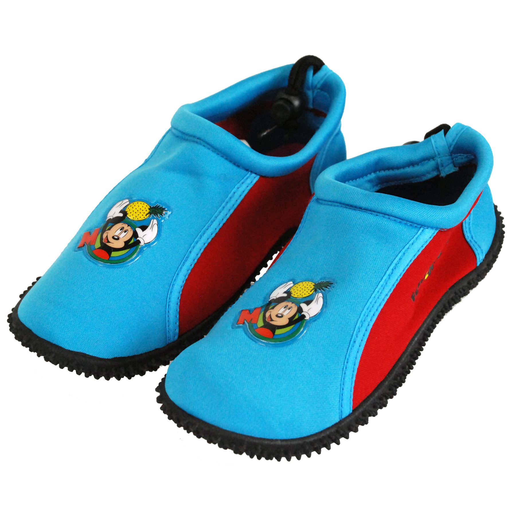 Disney Mickey Mouse Boys Surf Aqua Shoes Canvas Shoes Slippers