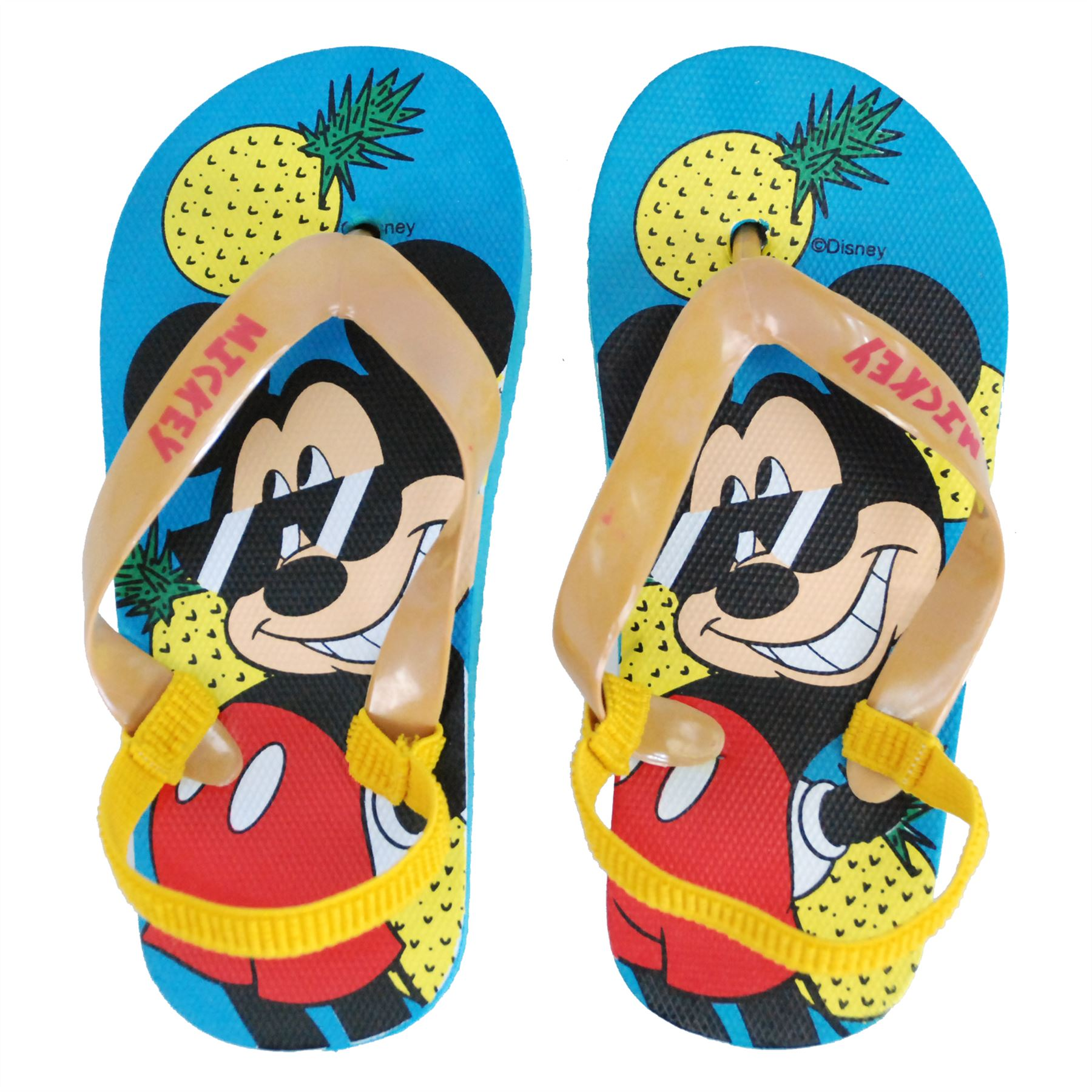95c5b858f9ac Disney® Mickey Mouse Kids Flip Flops Sandals Pool Beach UK Sizes ...
