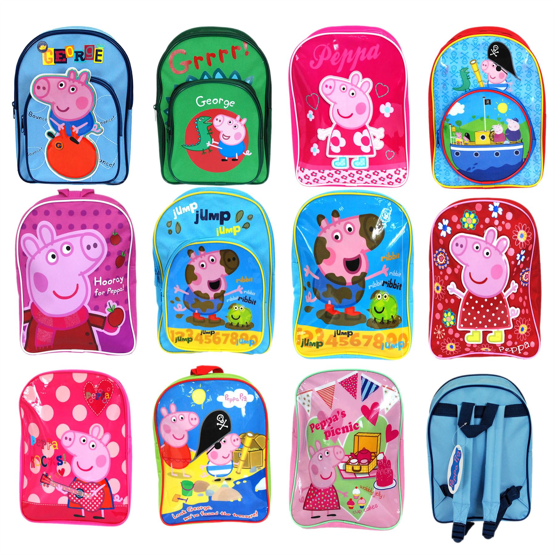 Image result for peppa pig school bag