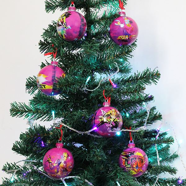 Marvel Christmas Tree.Details About Official Star Wars Marvel And Dc Comics Christmas Tree Baubles 6pc Packs