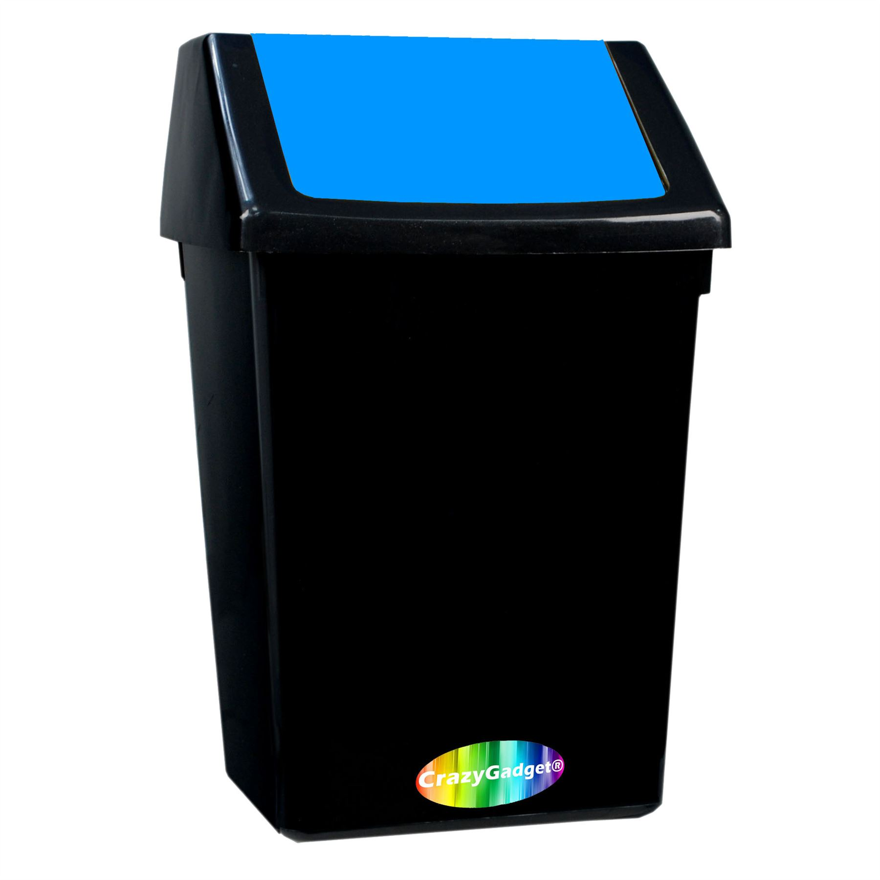 30l 45l litre swing top rubbish recycle home waste bin dustbin ebay. Black Bedroom Furniture Sets. Home Design Ideas