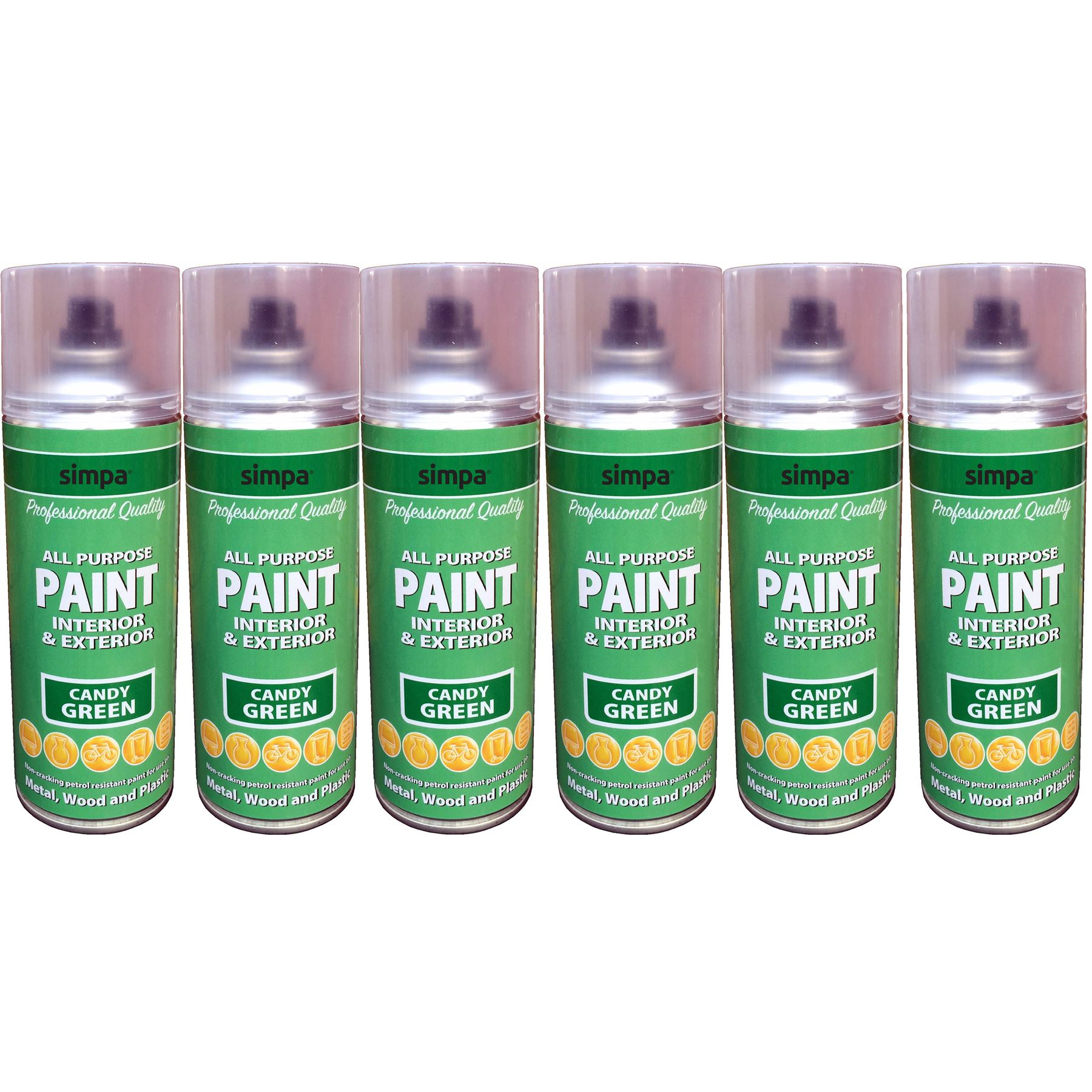 400ml candy colours metal wood plastic all purpose interior exterior spray paint ebay for Exterior spray paint for plastic
