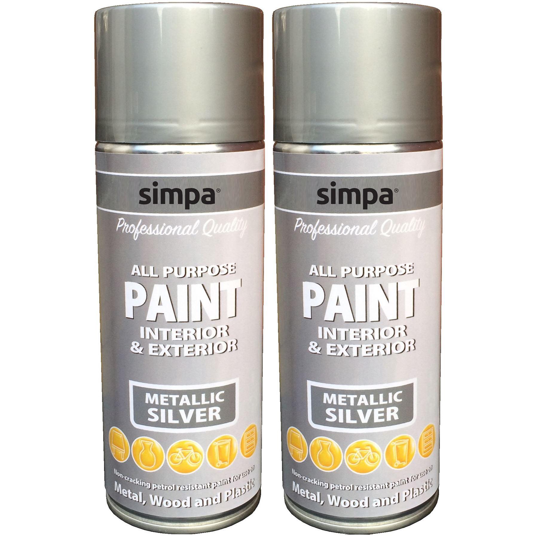all purpose spray paint metallic effect interior. Black Bedroom Furniture Sets. Home Design Ideas