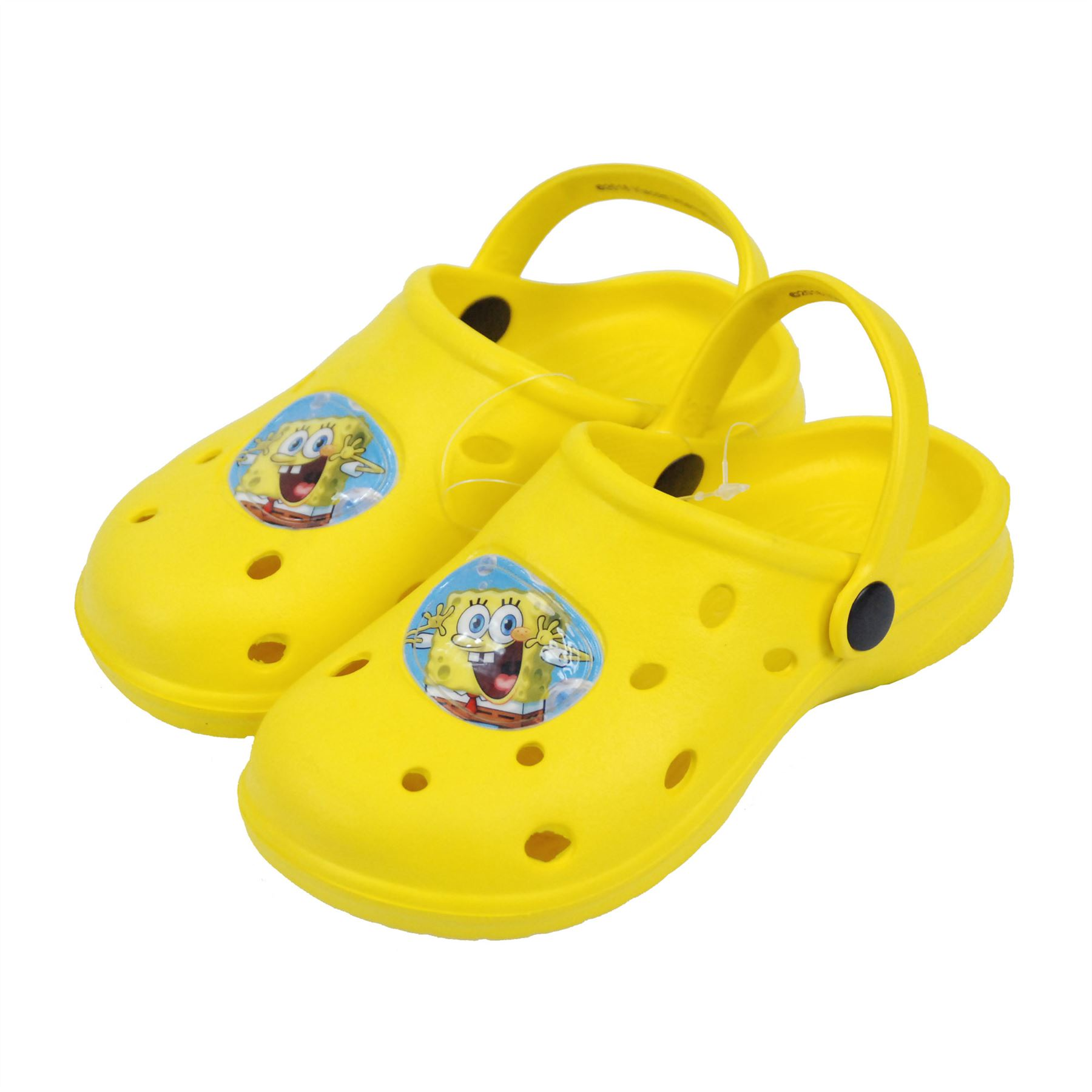050585fa52c58 Details about Nickelodeon® SpongeBob Kids Boys Sandals Beach Slippers Shoes  UK Sizes 5 to 1