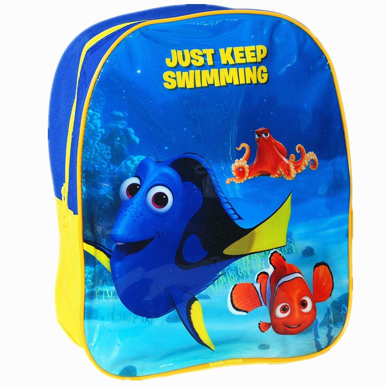 Finding Dory Nemo Children School Travel Rucksack Backpack Bag and Lunch Bag Set