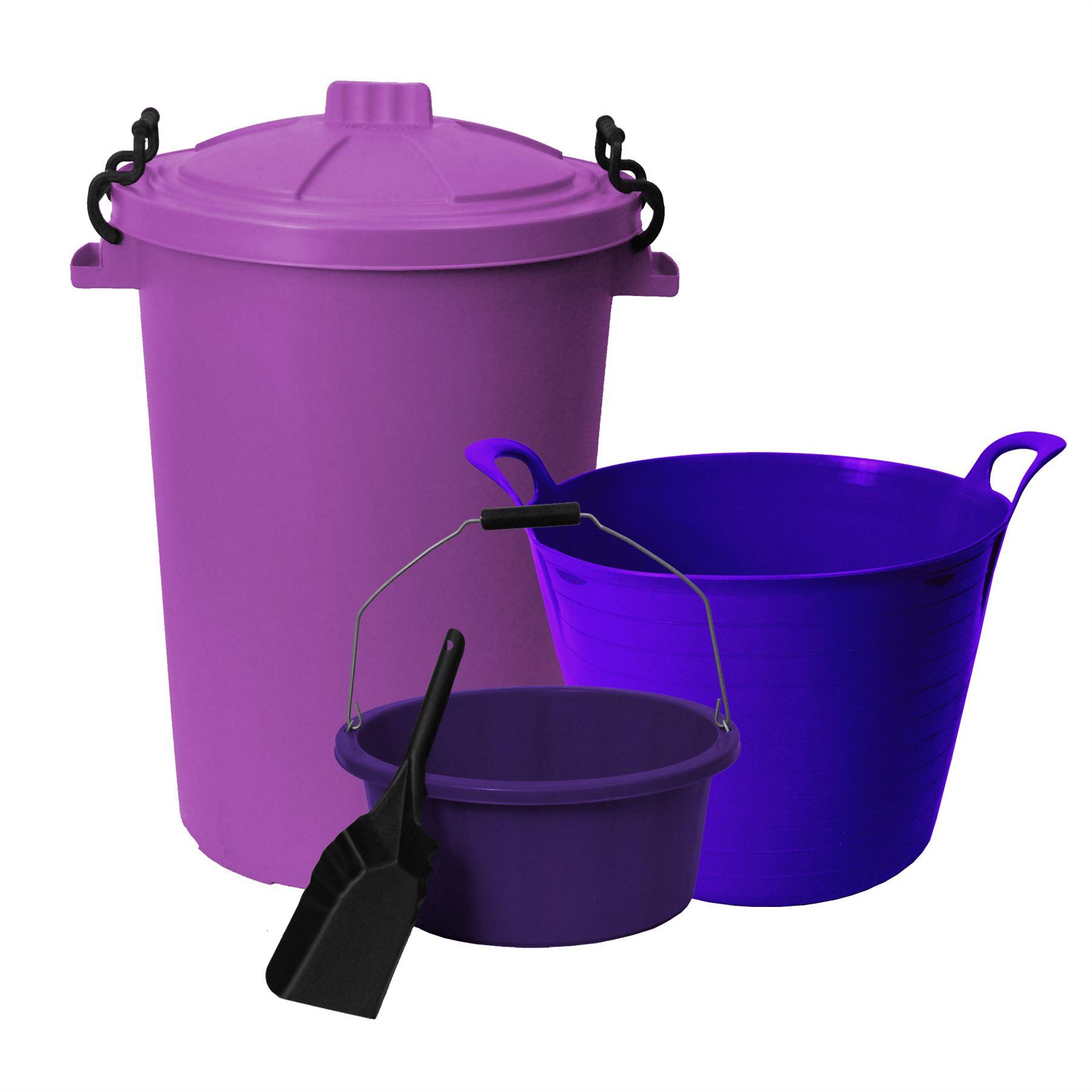 edco mixing pot tools storage gauge plastic utility tub detail plastering
