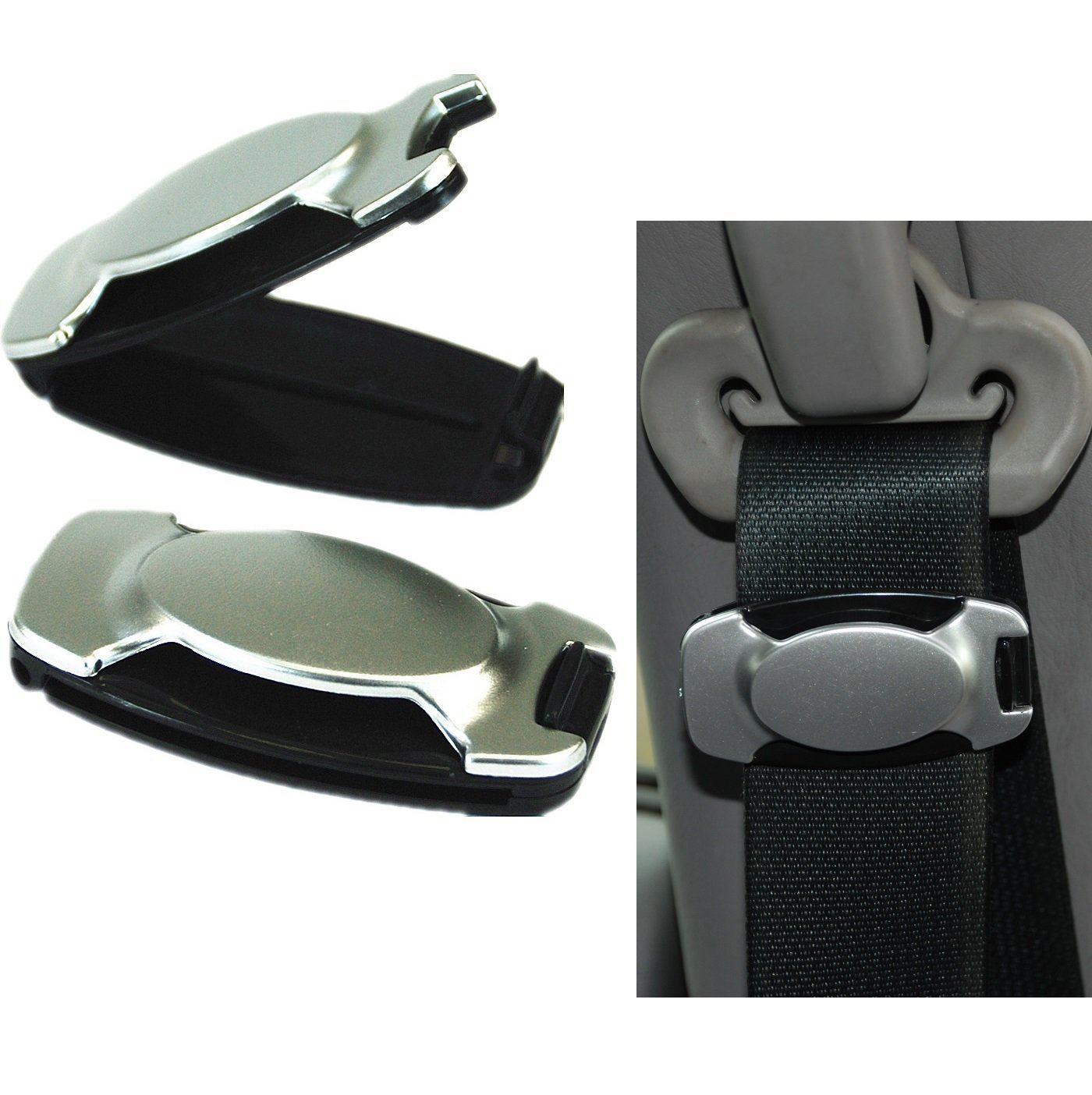 Car Seat Belt Adjuster Stop Stopper Clips