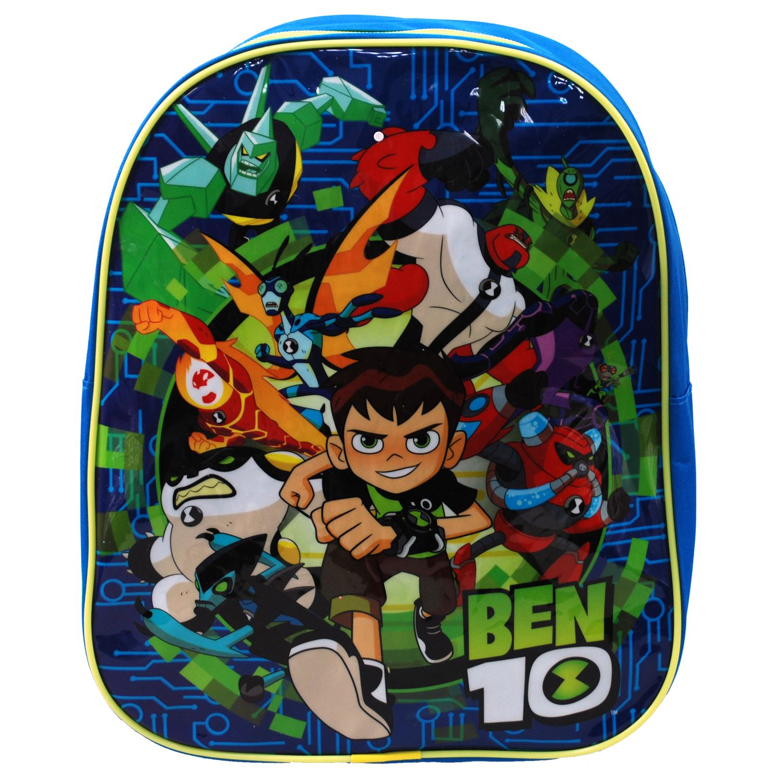 431fdcdc12 Cartoon Network® Ben 10 Boys Junior Backpack Rucksack School Bag ...