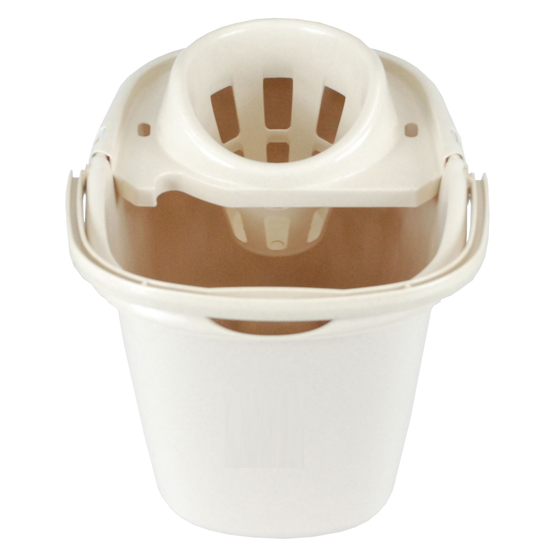 2 x CrazyGadget® Durable Coloured 15L Mop Bucket & Ringer - Choice ...