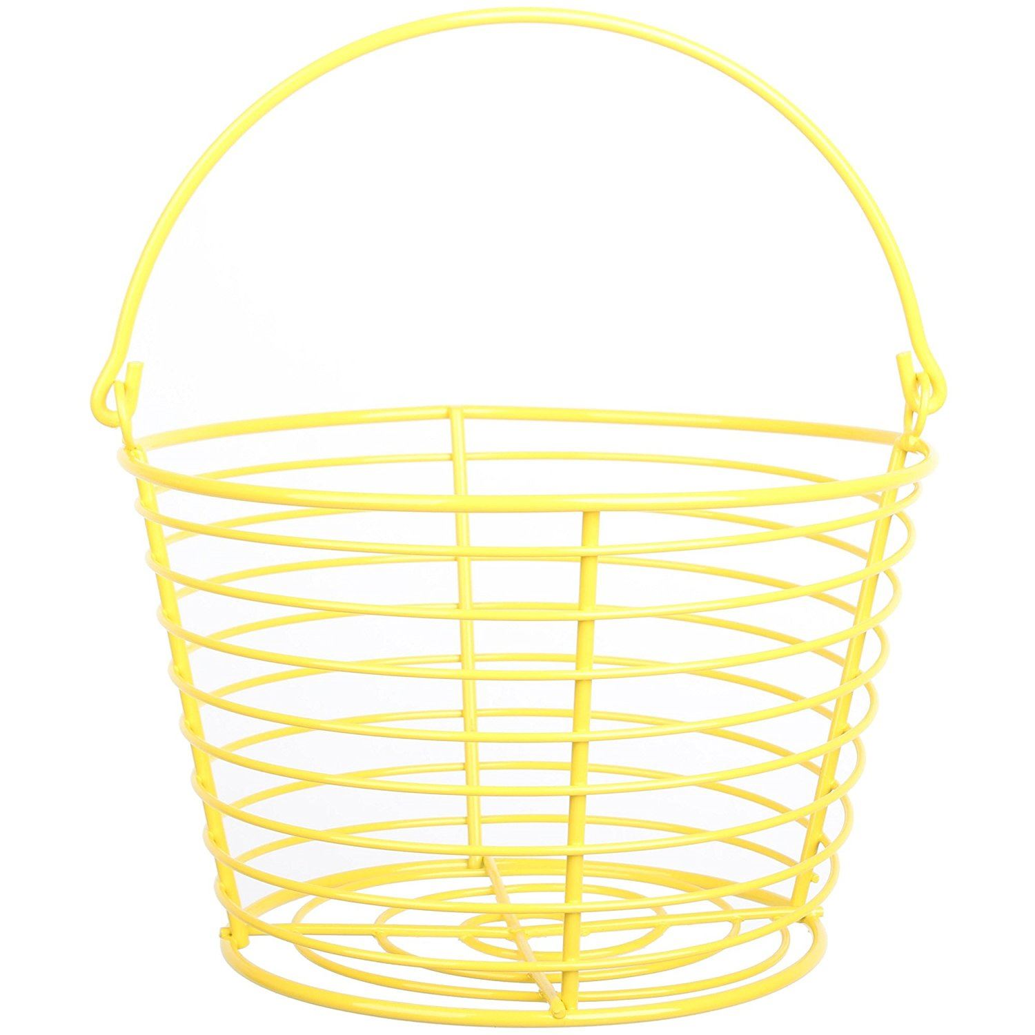 Country Farm Style Strong Colour Metal Wire Egg Holder Stand Basket ...