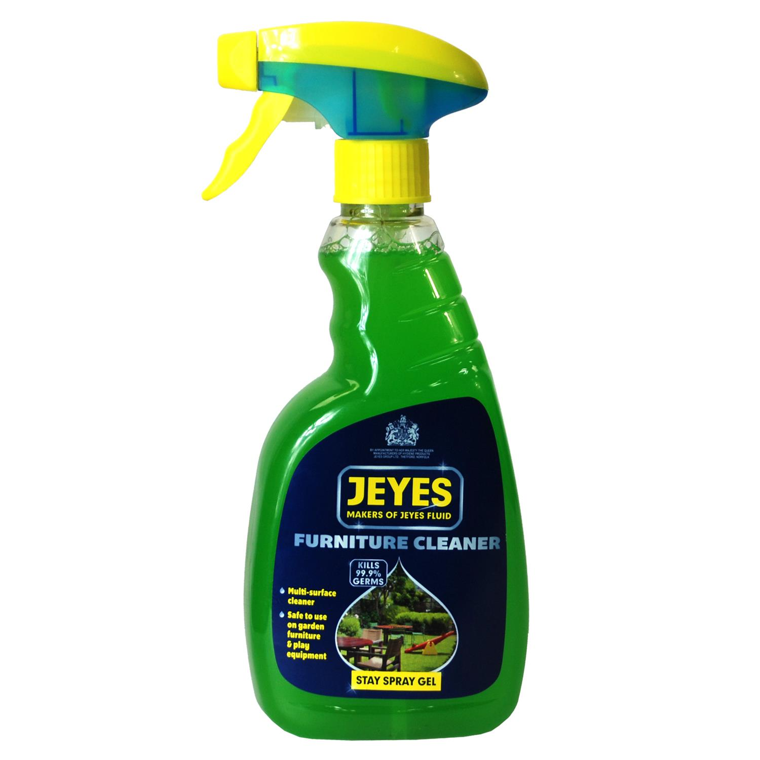 Details about Jeyes Stay Spray Gel Furniture Cleaner 10ml.
