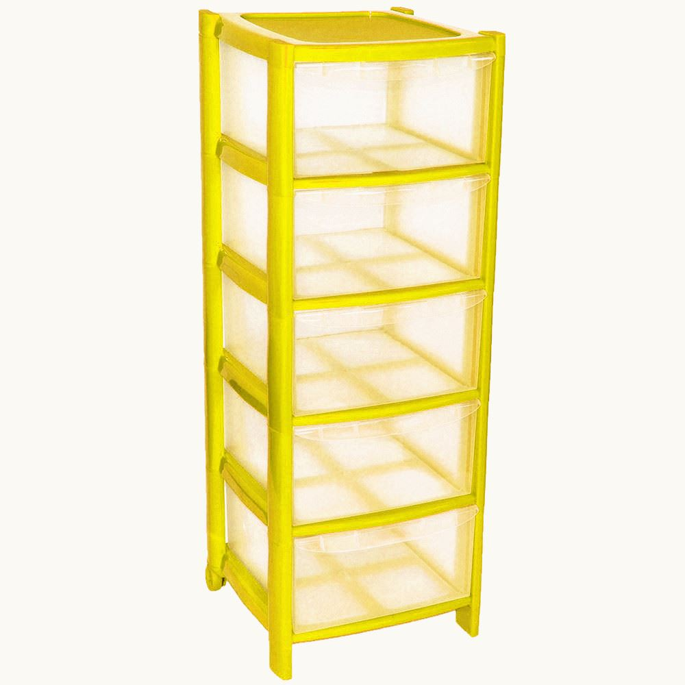 5 Drawer Plastic Storage Part - 26: Simpa-4-Drawer-Plastic-Storage-Drawers-Unit-with-
