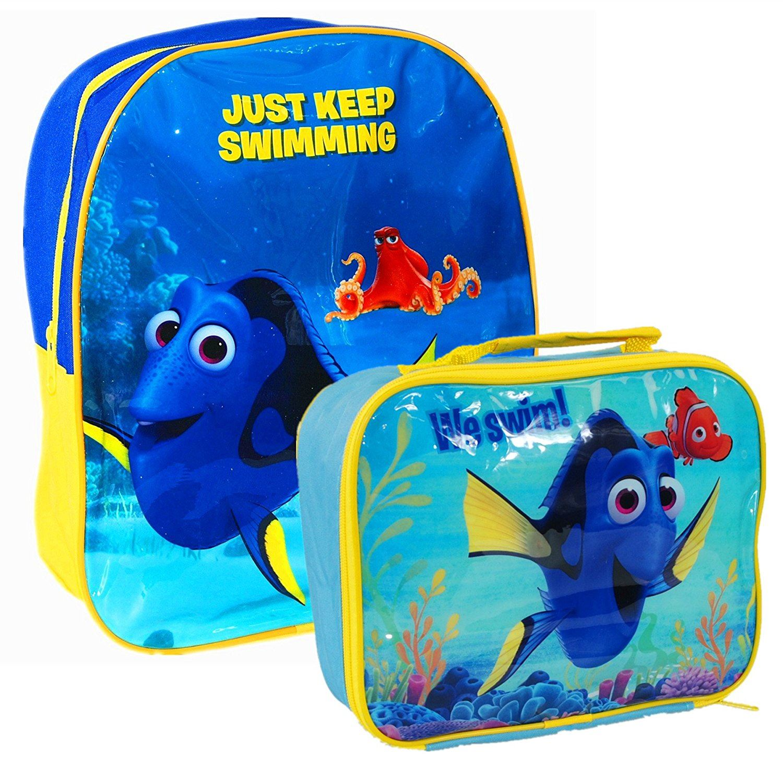 778011e1590 Details about Finding Dory Nemo Children School Travel Rucksack Backpack Bag  and Lunch Bag Set