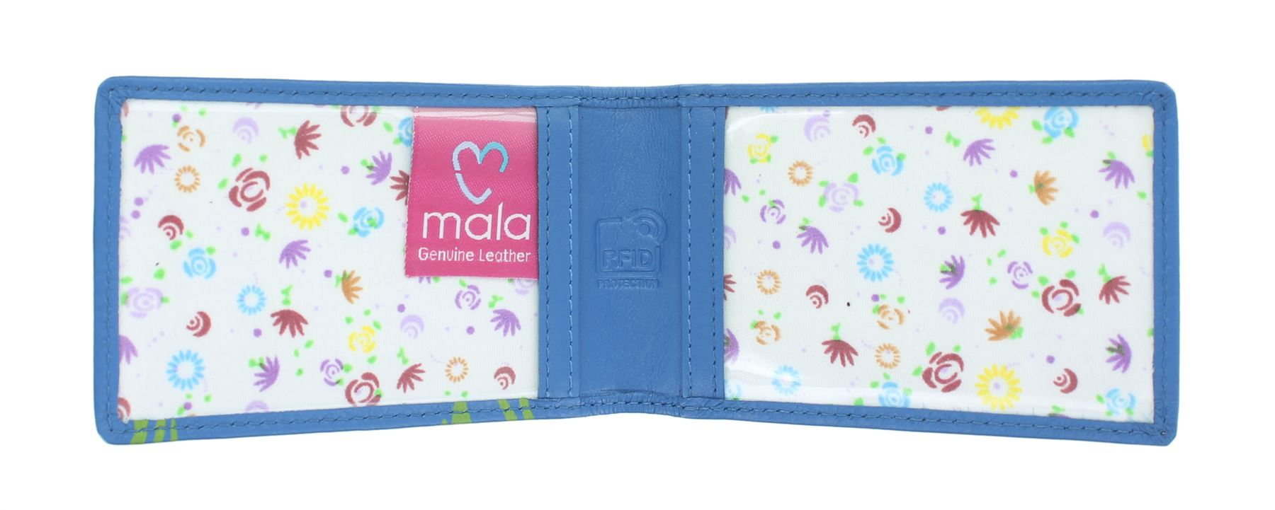 Mala Leather Bella Collection Leather Credit Card Holder RFID 641_33