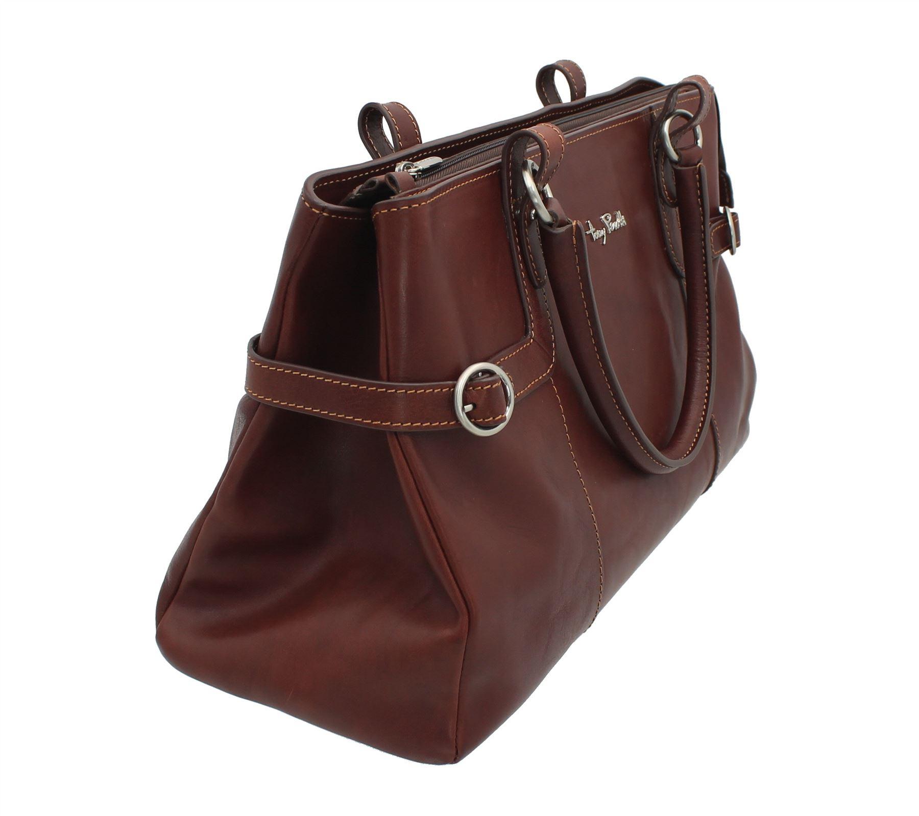 Bag Full Tony Brown Leather 1 Perotti Grab 1821 Grain nkNOXZP80w