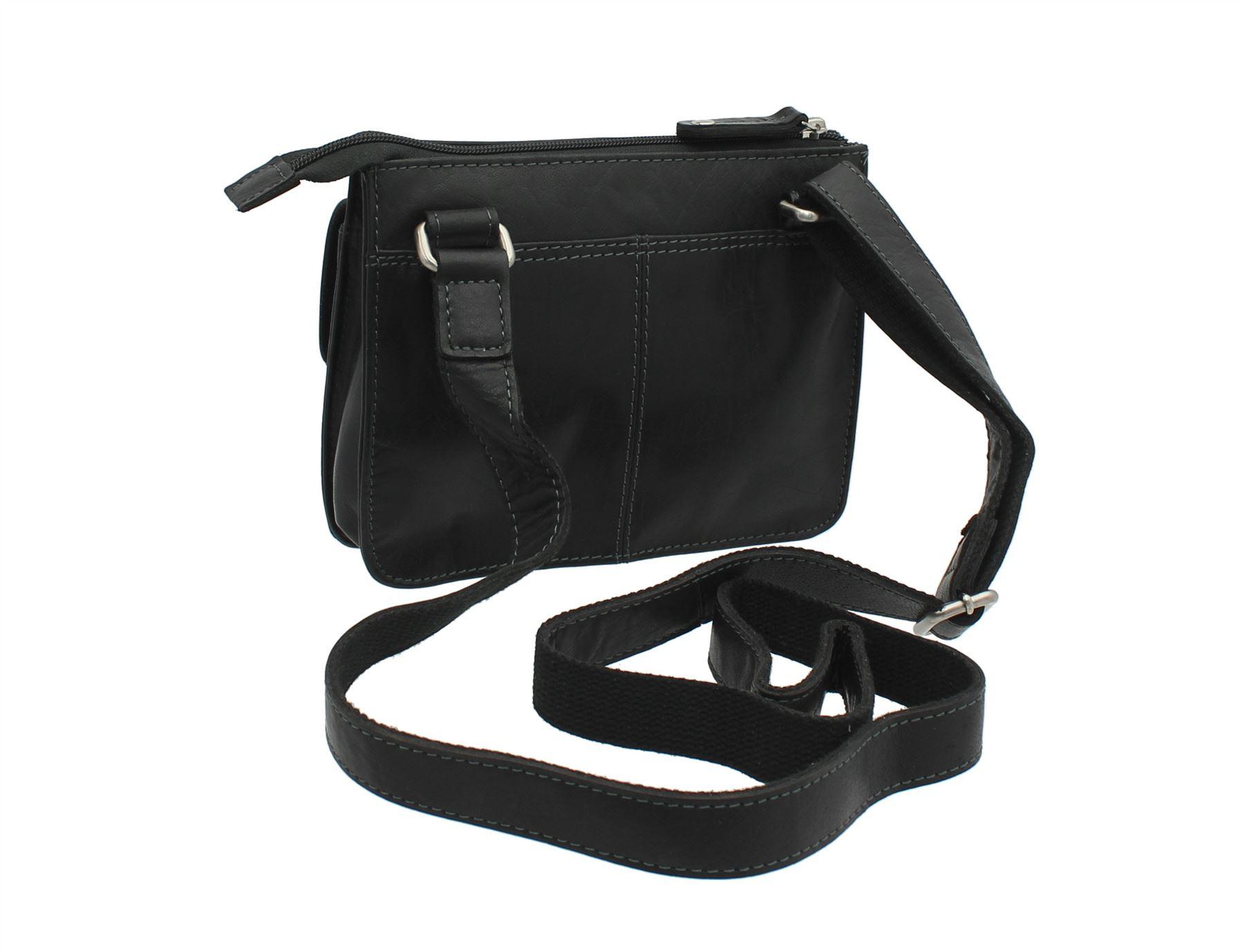 Op tanniet Bollabags Top Messsenger Black brownniet Leather Zip Nap165 Bag Voorraad Compact Voorraad lJ1T3FKc