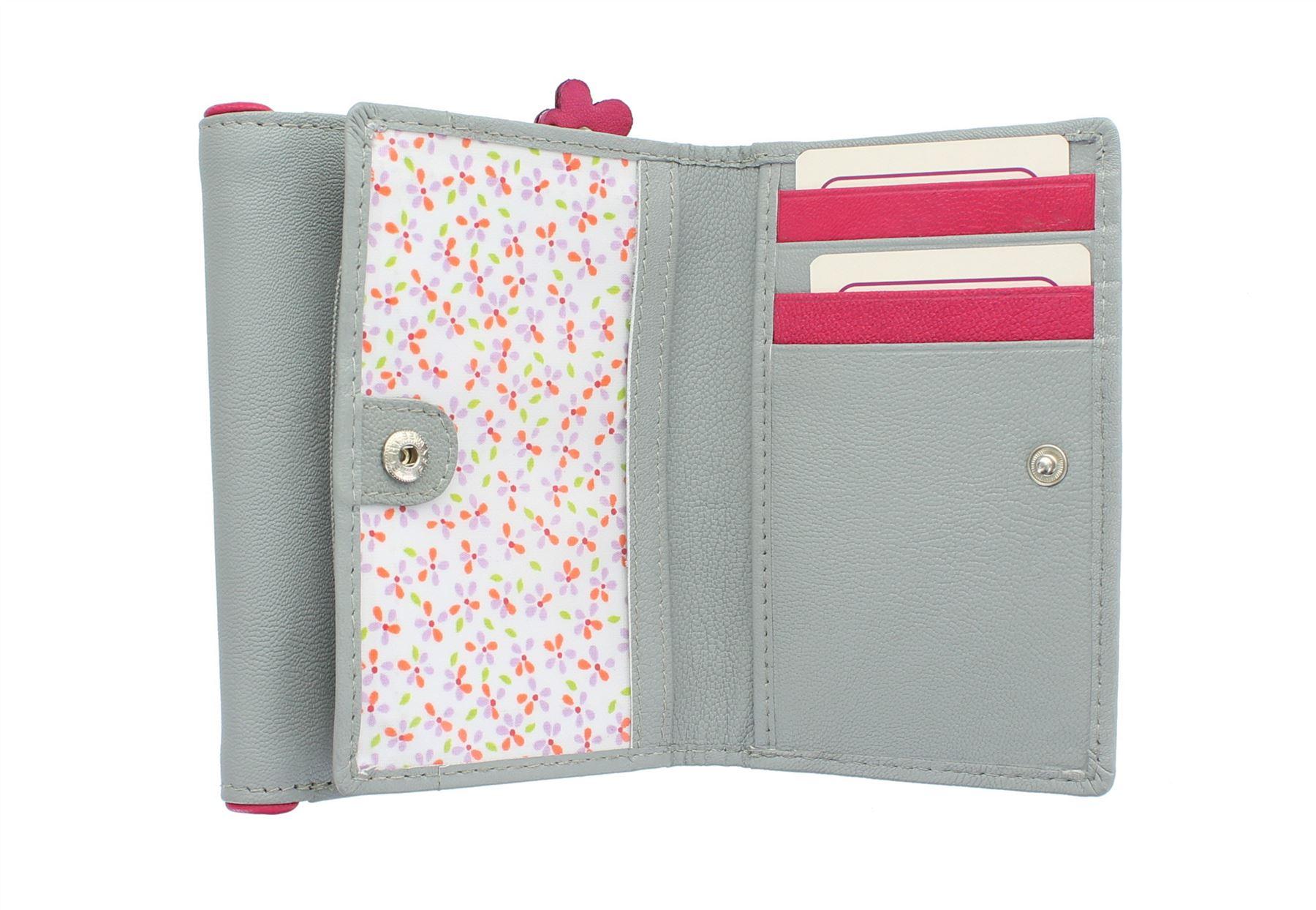 6 Leather esaurito pink Collection Zorro Mala 3420 Purse Grey AqXxUz