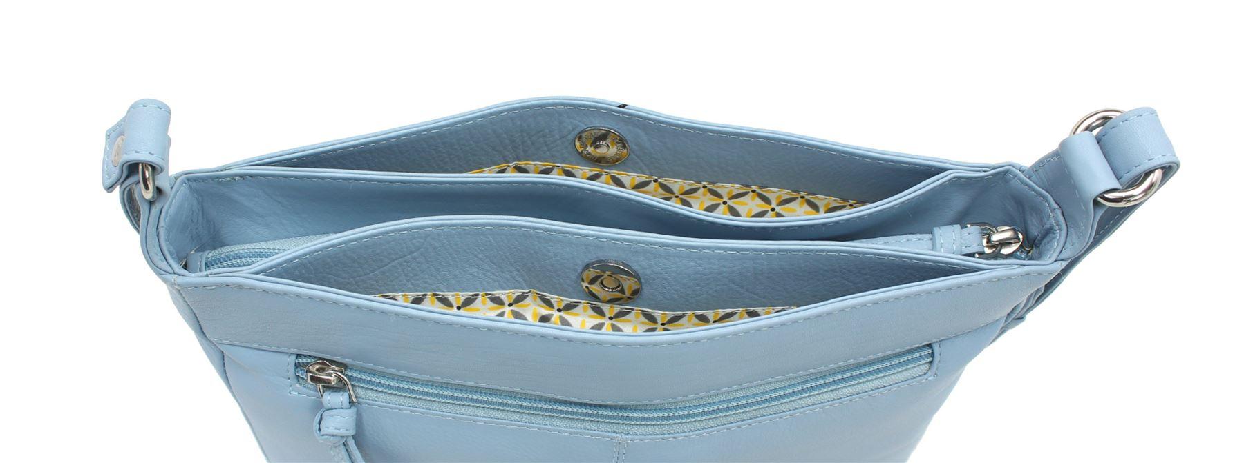 Mala Leather Sewing Room Collection Leather Shoulder Cross Body Bag Bag Bag 7147_22 | Neue Sorten werden eingeführt  bb2833