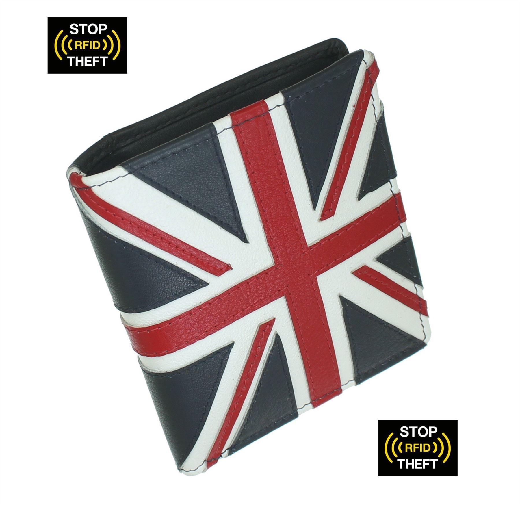 Mala Leather Union Jack Collection Slim Leather Wallet RFID Blocking 199_29