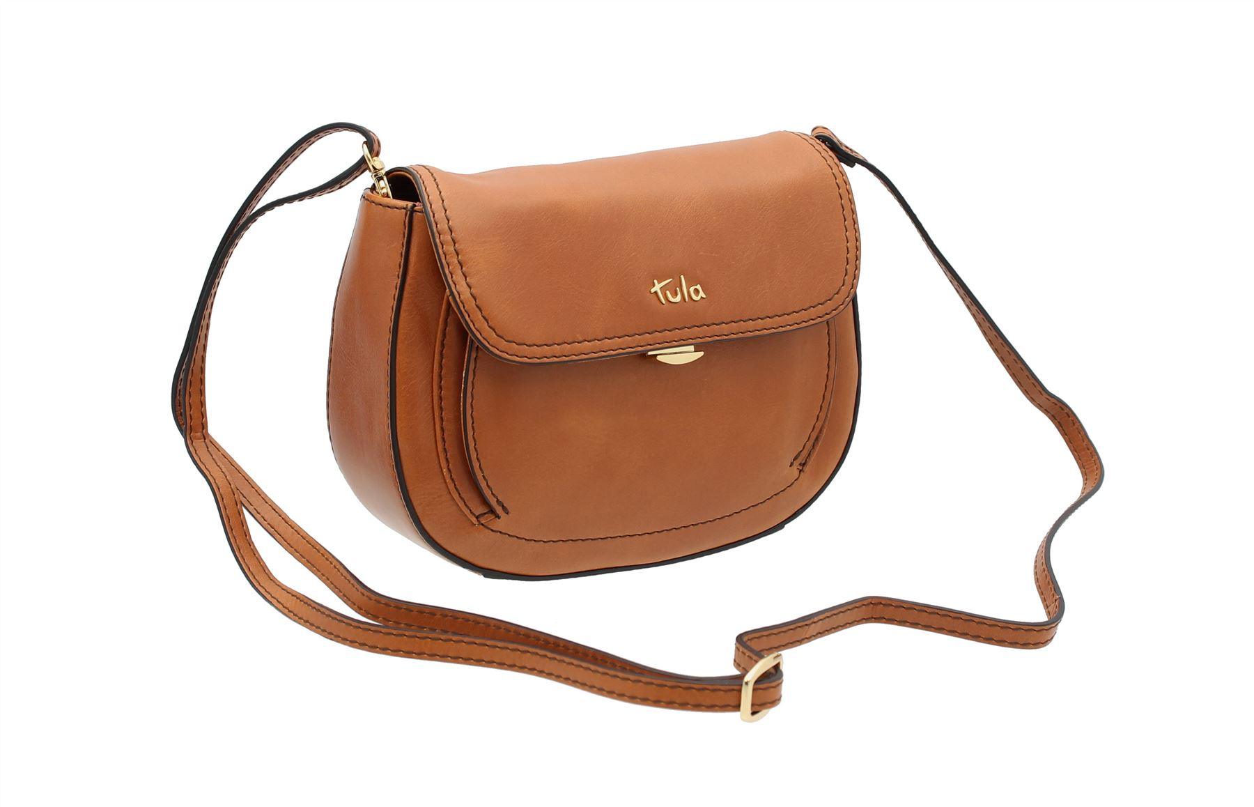 78c41eac4e Tula BELLA Collection Small Leather Shoulder   Cross Body Bag 8152 ...