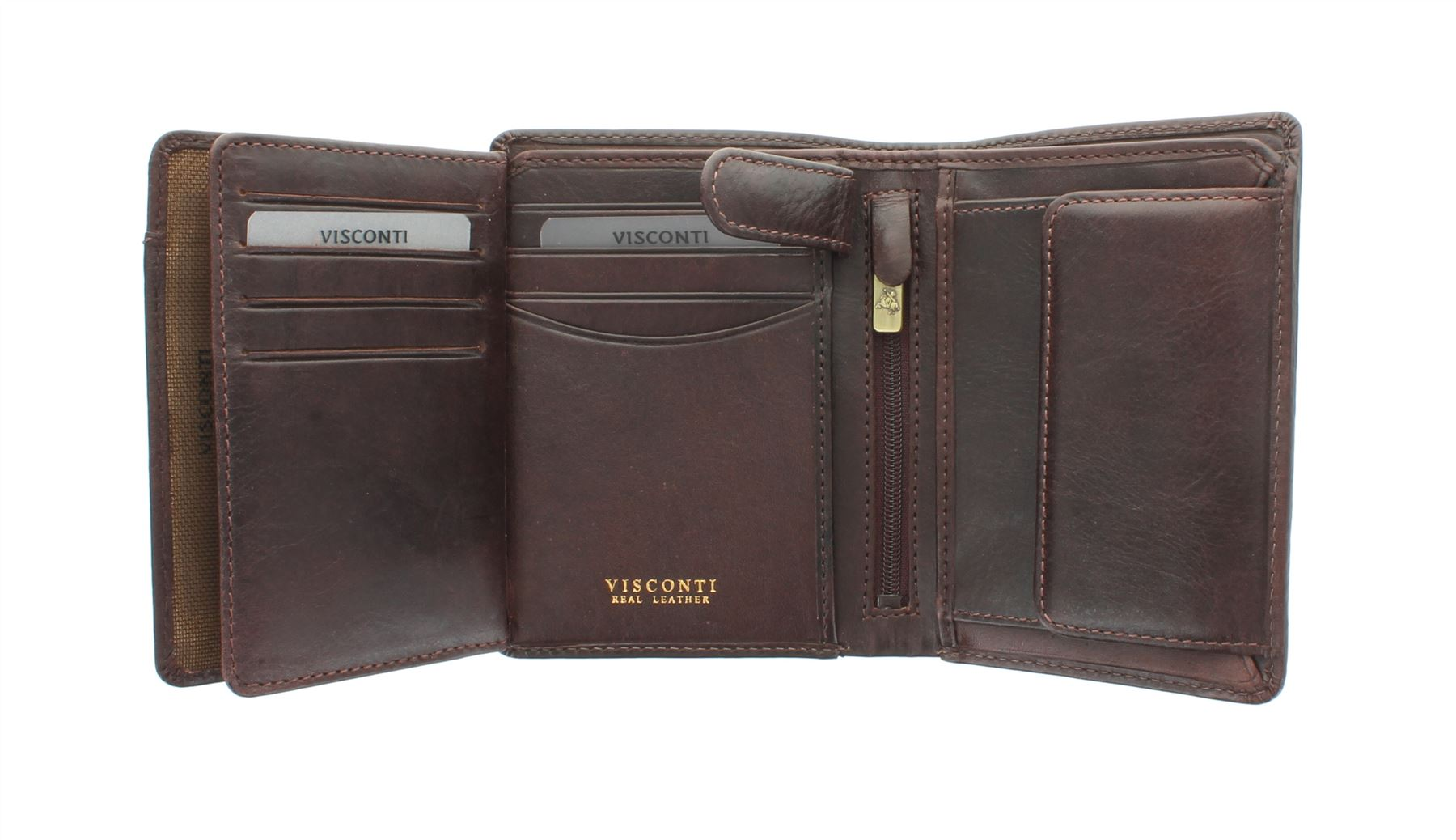 Visconti LUCCA Portefeuille cuir RFID Protection