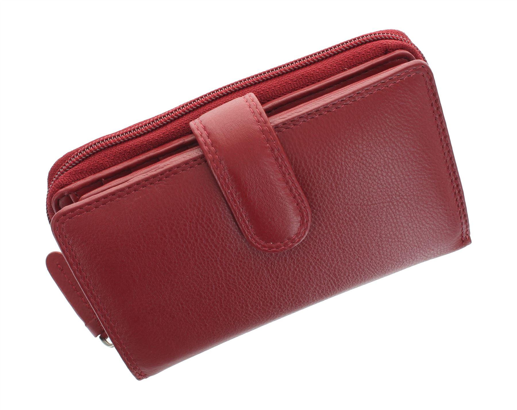 Visconti-Heritage-Collection-MADAME-Leather-Purse-Tab-Closure-RFID-blocking-HT33 miniatura 22