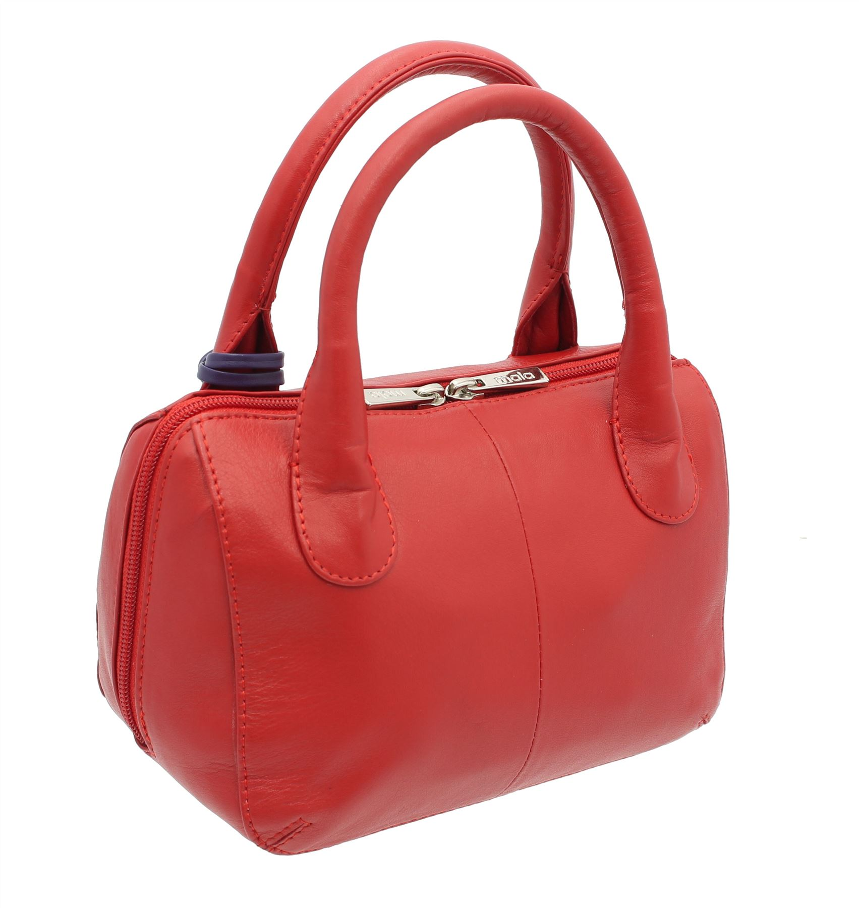 Mala Leather Anishka Collection Leather Grab Bag 774 75 Red for sale ... 8c512f36a636